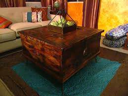 giving furniture a chic rustic look hgtv