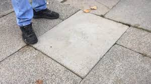 Done Deal Patio Slabs Wobbly Paving Slabs In Glenfield Are So Bad Wheelchairs Are