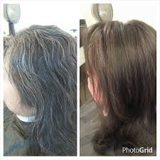 how to blend in grey hair blending gray hair hairstyle ideas