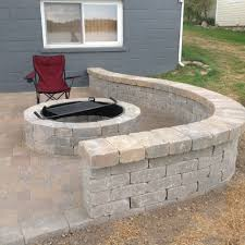 Slope For Paver Patio by From Bare Bones Concrete Back Door Landing Pad To One Of A Kind