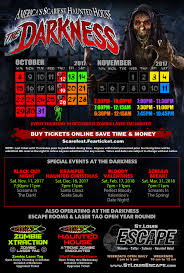 St Louis Six Flags Ticket Prices Haunted House In St Louis Missouri The Darkness