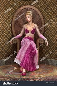 Beautiful Fairies by 3d Digital Render Beautiful Fairy Tale Stock Illustration