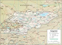 Bishkek Map K Kyrgyzstan Ollantay Center For The Arts
