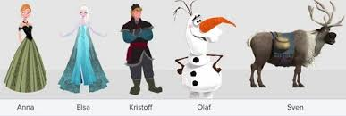 frozen images frozen characters lineup wallpaper background