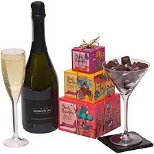 wine gifts for prosecco and chocolate truffles gift basket wine gifts for