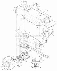 murray 38633x92a parts list and diagram 1996 38 inch