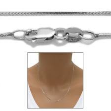 14k Solid White Gold 1 5 Mm Round Cable Chain Necklace 16 Quot 10 Karat Gold Necklace Ebay