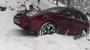 off road subaru forester 2014 subaru forester off road snowy misadventure u0026 review the