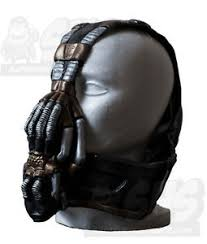 Batman Bane Halloween Costume Bane Gas Mask U0026 Insert Tdkr Batman Costume Dark Knight