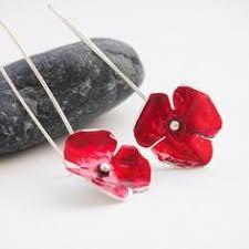 poppy earrings michael michaud poppy earrings jewelry trinkets