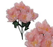 artificial peonies plastic artificial peonies flowers ebay