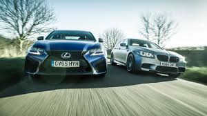 lexus coupe 2003 twin test bmw m5 u002730 jahre u0027 vs lexus gs f top gear