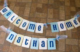 baby boy welcome home decorations banana lala new baby boy welcome home banner for nathan