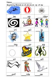 initial blend and phoneme worksheets by annhatton teaching