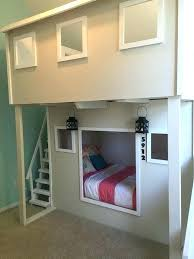 Bunk Bed Side Table Bed With Stairs And Slide Ianwalksamerica