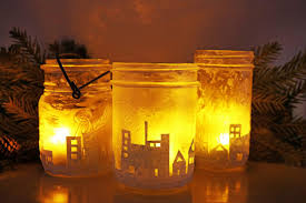 how to make a glass jar skyline how tos diy