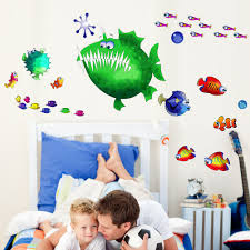 angler fish multi pack wall decal ilove the angler fish angler fish multi pack wall decal