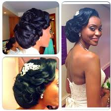 2017 classy bun hairstyles for african american women nigerian wedding bridal hairstyles for black brides bridesmaids