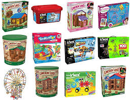 target black friday tinker tous k u0027nex lincoln logs and tinkertoys up to 50 off today only