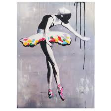 Peinture Noir Et Blanc by Tableau Et Cadre Peinture à L U0027huile Ballet 100 Peintures Murales