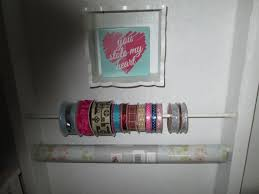 wrapping paper holder tension rod crafting ribbon and wrapping paper holder thriftyfun