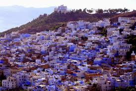 blue city morocco chair chefchaouen the blue city of morocco