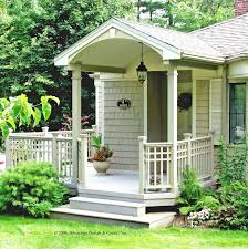 best comfortable small front porch fall decorating 3653