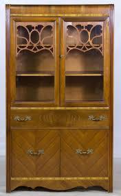 uhuru furniture u0026 collectibles 1940s waterfall china cabinet