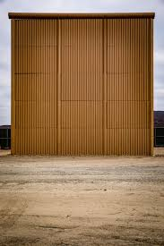 cost to build report eight ways to build a border wall the new york times