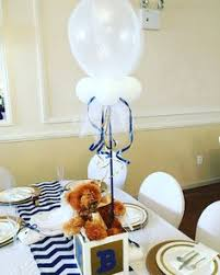 teddy centerpieces for baby shower blue and yellow teddy baby shower baby shower