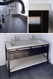 trough 4819 bathroom sink in nativestone great alternative for