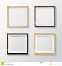 light wood picture frames set of realistic light wood blank picture frames and dark wood stock