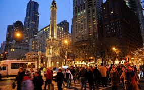 Downtown Chicago Hotels Map by Book Your Chicago Hotels Magnificent Mile Shopping Package