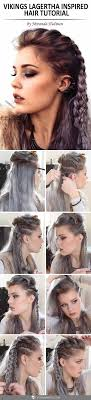 how to plait hair like lagertha lothbrok vikings lagertha hair tutorial vikings lagertha lagertha and