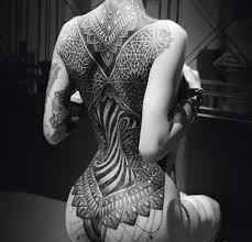 the symmetry in this gorgeous tattoo interestingasfuck
