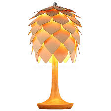 Wooden Table Lamp Small Globe Glass 9 Inch High Wood Table Lamps