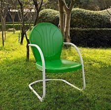 Retro Metal Patio Chairs Metal Lawn Chair Ebay