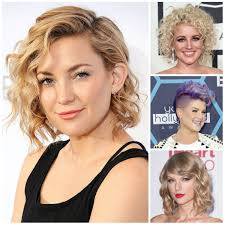 short hairstyle for wavy hair 2017 subtle curly hairstyle ideas