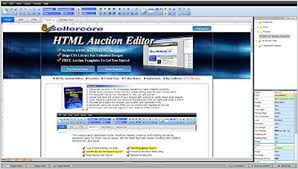 edit html template free ebay templates auction listing html generator sellercore