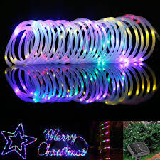 thanksgiving string lights le 33ft 100 led solar power lights waterproof portable