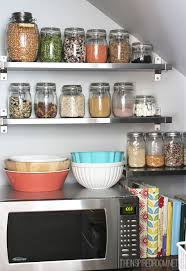 How To Organize Your Kitchen Pantry - kitchen pantry reveal the inspired room