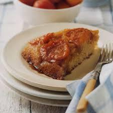 fresh apricot upside down cake recipe epicurious com