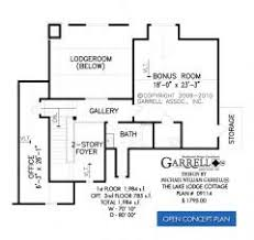 Lake Cottage Floor Plans Lake Lodge Cottage House Plan House Plans By Garrell Associates