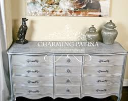 French Country Shabby Chic by French Provincial Dresser Etsy
