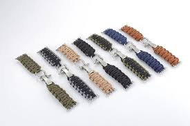 multi strap bracelet images Durable handmade nylon parachute cord adventure travel survival jpg
