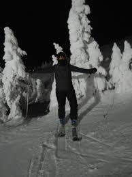 in my own backyard christmas at big white ski resort senior nomad