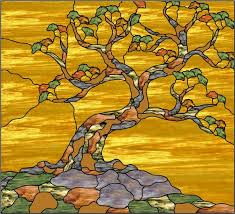 240 best trees leaves stained glass images on