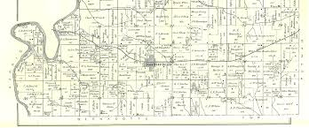 Robinson Illinois Map by 1895 Atlas Of Fulton County Illinois Cass Township