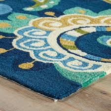 Yellow And White Outdoor Rug Teal And Yellow Area Rug Visionexchange Co