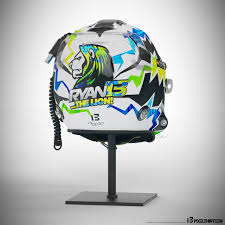 motocross helmet designs stilo st4f u0027the lion u0027 custom helmet design motorsports